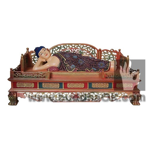 reclining-buddha-shakyamuni-painted-sculpture